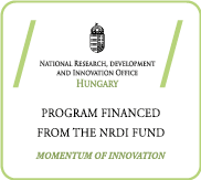 Program Financed from the NRDI Fund
